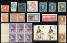 Guillermo Jalil - Philatino Auction #1940 ARGENTINA: