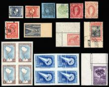 Guillermo Jalil - Philatino Auction #224 - ARGENTINA: small but very attractive auction