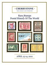Cherrystone Auctions U.S. & Worldwide Stamps & Postal History