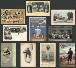 Guillermo Jalil - Philatino Auction # 2022 WORLDWIDE + ARGENTINA: Postcards, autographs, brochures and more!