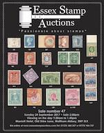 Essex Stamp Auctions Worldwide Public Auction No 47