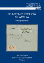 Zanaria Aste s.r.l. 9th Philatelic Auction